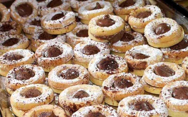 biscotti con cioccolata
