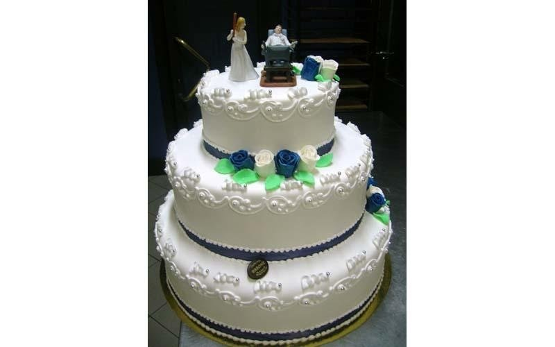 torta matrimonio con panna
