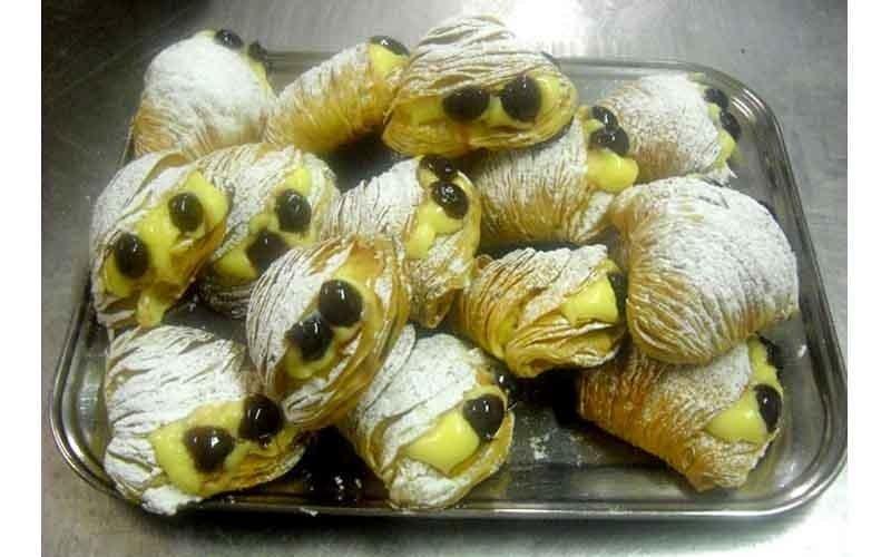 code di aragosta con crema pasticcera