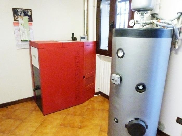 caldaia rossa e caldaia cilindrica