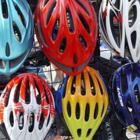 caschi biciclette