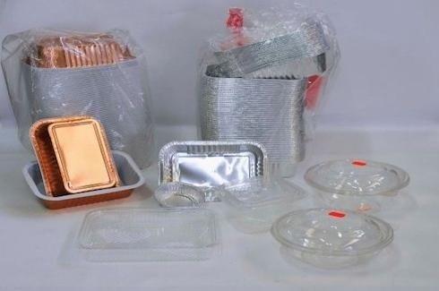 contenitori plastica e alluminio