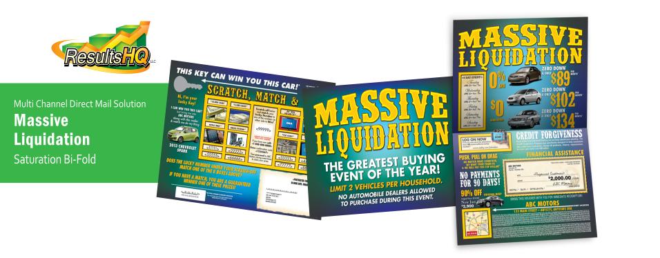 Massive Liquidation Promotion
