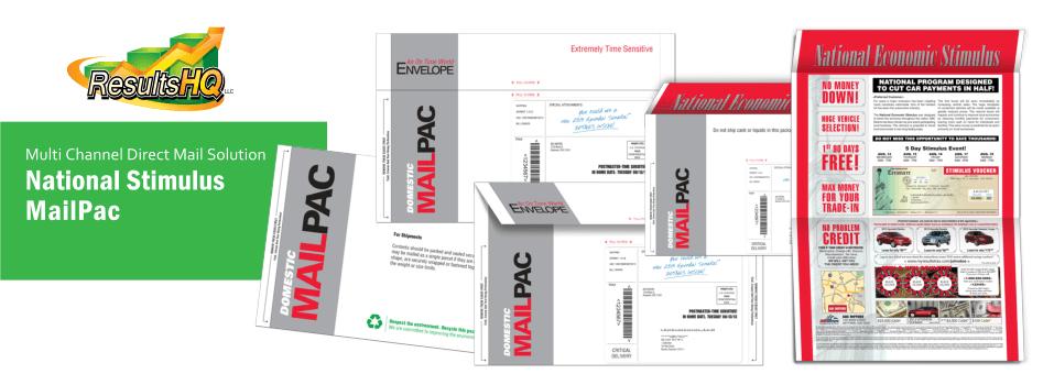 National Stimulus MailPac