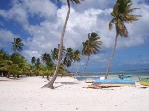 spiaggia bianca Caraibi