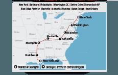 Tour in Pullman American Dream