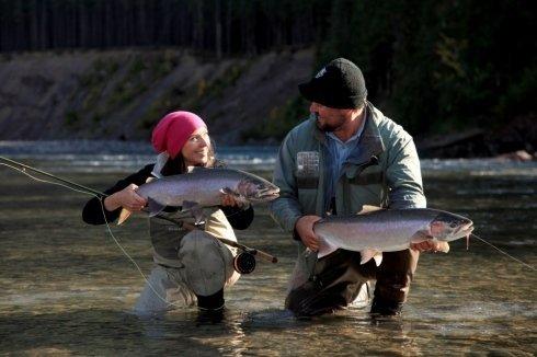 Pesca a mosca e a spinning
