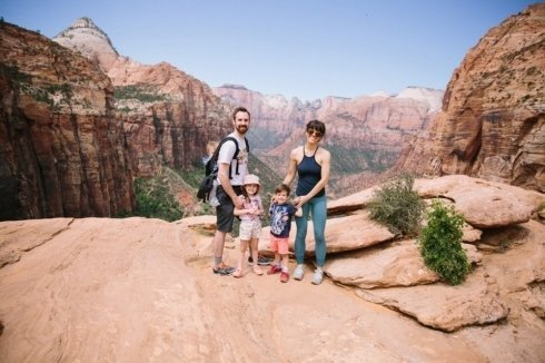 tour per famiglie nei parchi americani