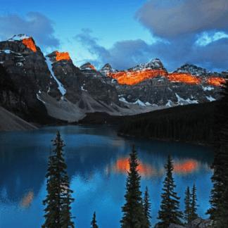 gran tour british columbia montagne rocciose
