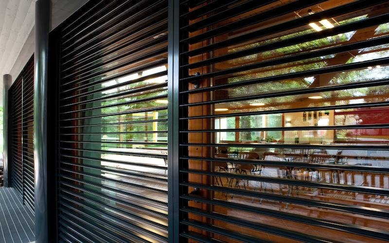 Wooden shading blinds