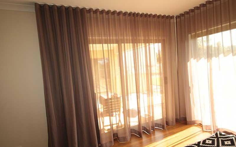 Furnishing curtains, Villa Duino