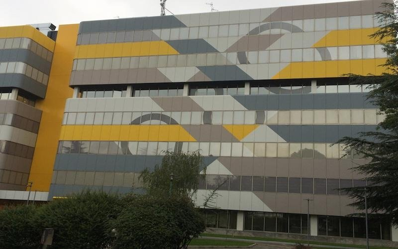 Glazing film Milan
