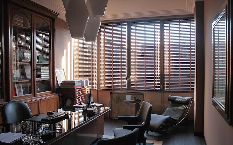Venetian blinds for the office