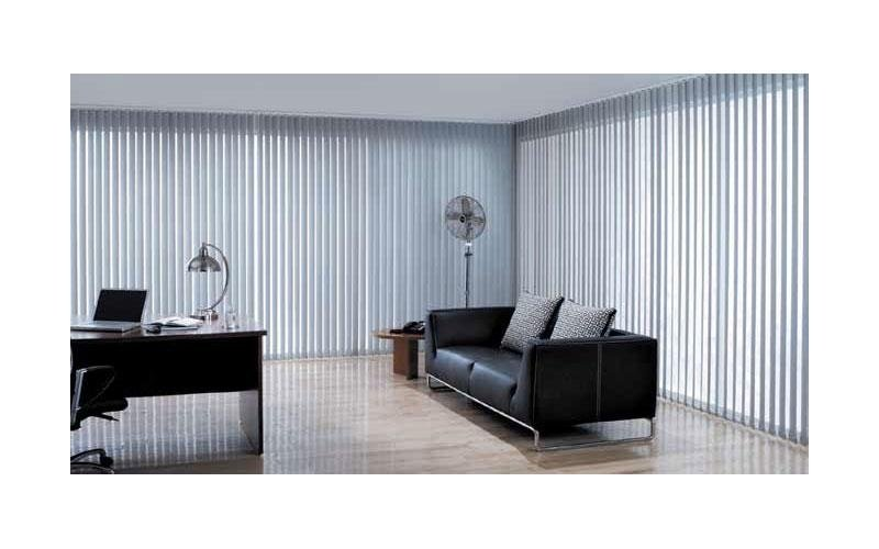Vertical blinds for indoor use
