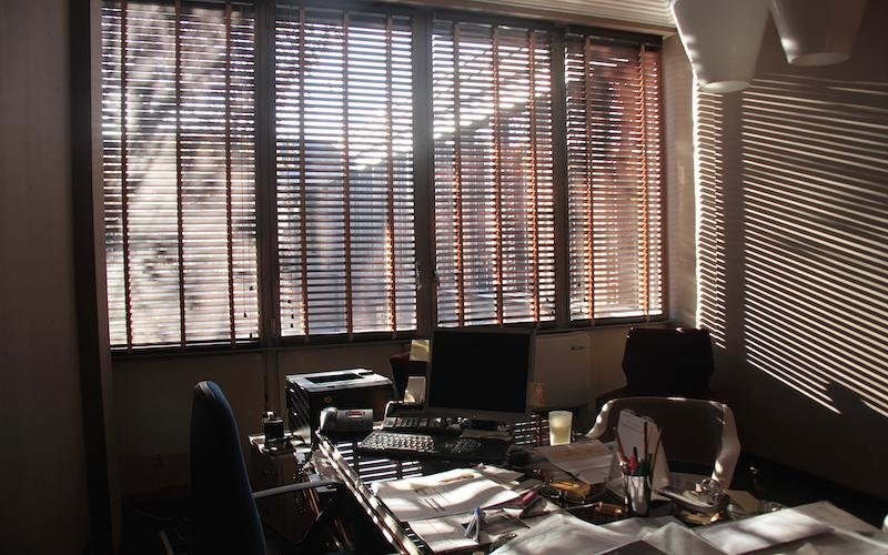 Venetian blinds for the home