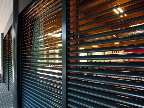technical blinds for interior design
