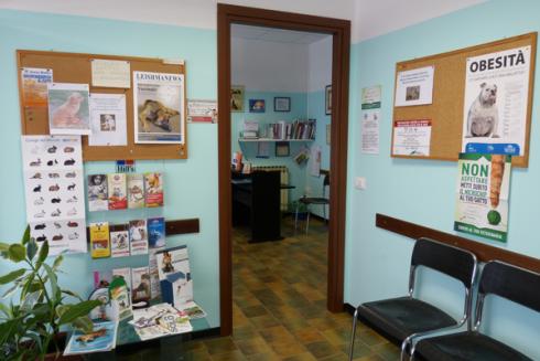 Sala d'aspetto ambulatorio