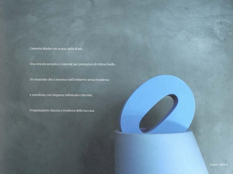 cemento madre con acqua