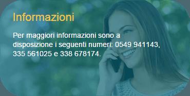 informazioni contatto