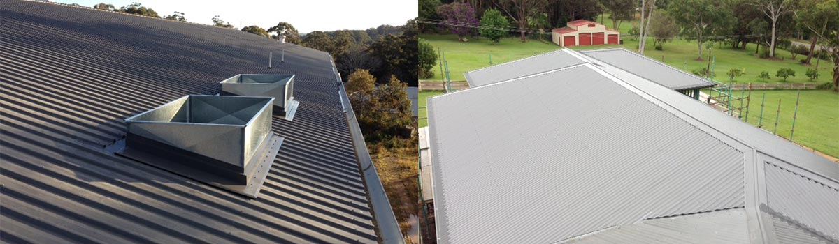 central coast gutter protection commercial domestic roof