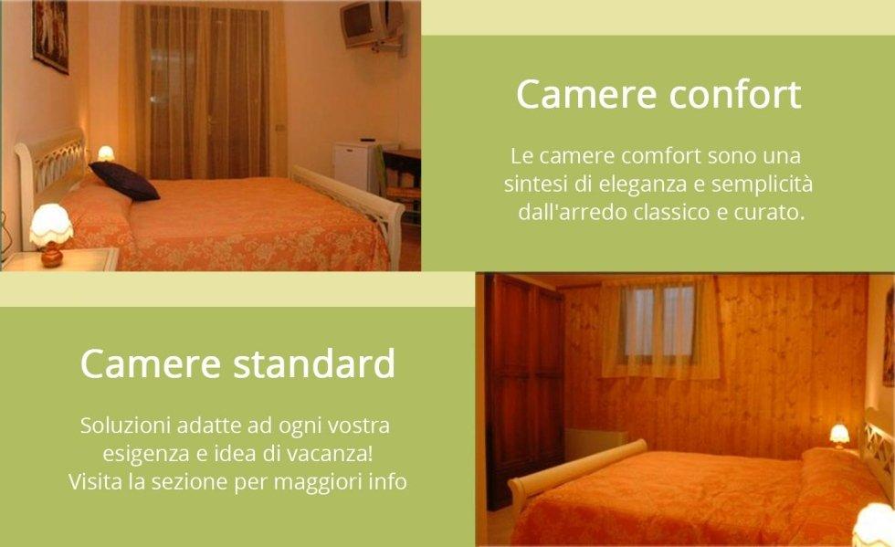 camere, camere confort, camere standard, hotel