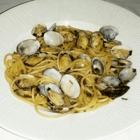 pasta e vongole, ristorante casale monferrato