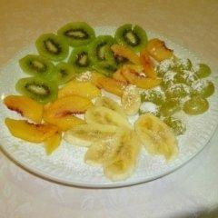 dolci alla frutta, ristorante capri, casale monferrato