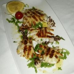 seppie grigliate, ristorante casale monferrato