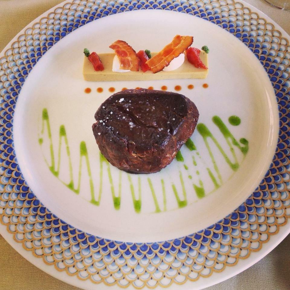 Filetto di carne alla griglia