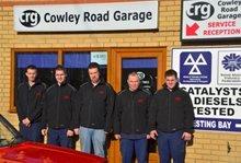 Cowley Road Garage team