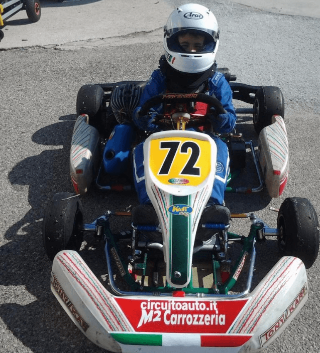 corse go-kart FEDERICO ALBANESE