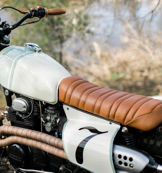Custom Seats | motorcycle repair near me | Kick start Garage