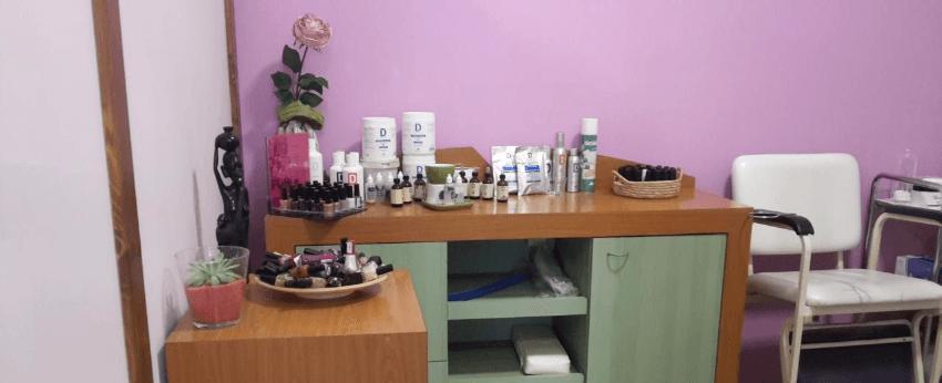 Sala manicure e pedicure