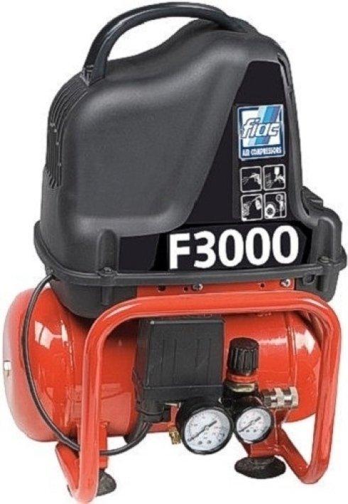 COMPRESSORI FIAC PORTATILI MONOFASE 1100 W. 8BAR LT.6      9104910100 F3000/6