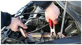 caricamento batterie auto