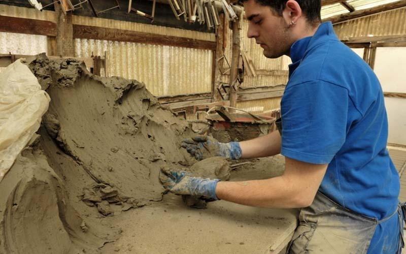 lavorazione argilla Viterbo