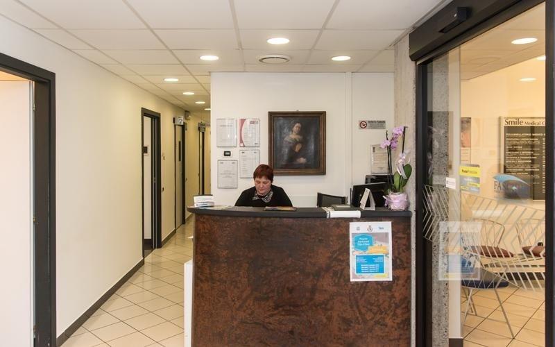 Sala d'accoglienza Smile Center