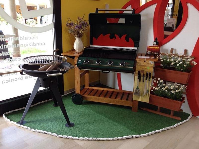 Esposizione barbeque e forni