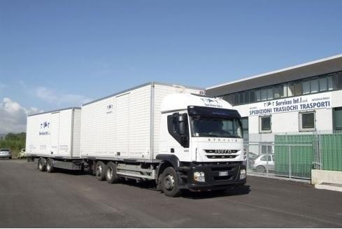 camion articolato trasporti