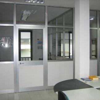 pareti divisorie in alluminio per uffici e spazi commerciali