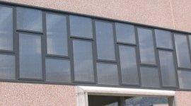 serramenti in alluminio per capannoni