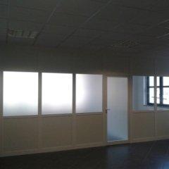 creazione pareti divisorie in alluminio