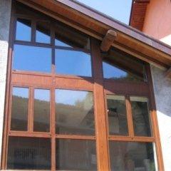 DOPO - rifacimento finestre e vetrate in alluminio effetto legno