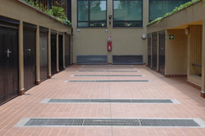 Rifacimento cortile a Milano Viale Abruzzi  - DOPO