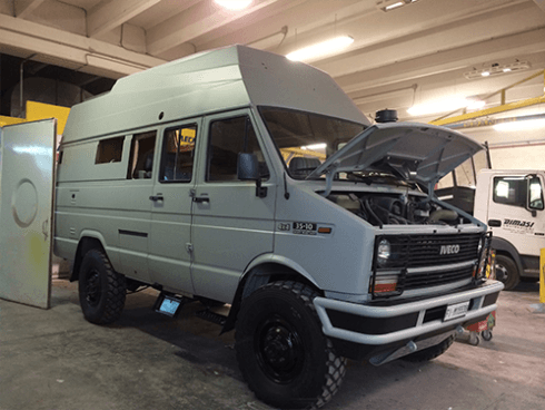 CAMPER IVECO TURBODAILY '89