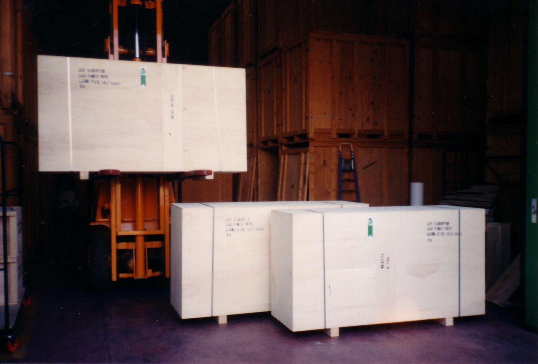 scatoloni bianchi