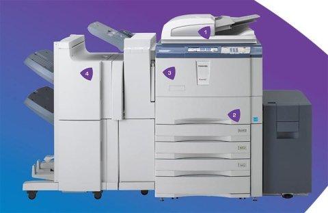 Toshiba stampante  85 pagine al minuto