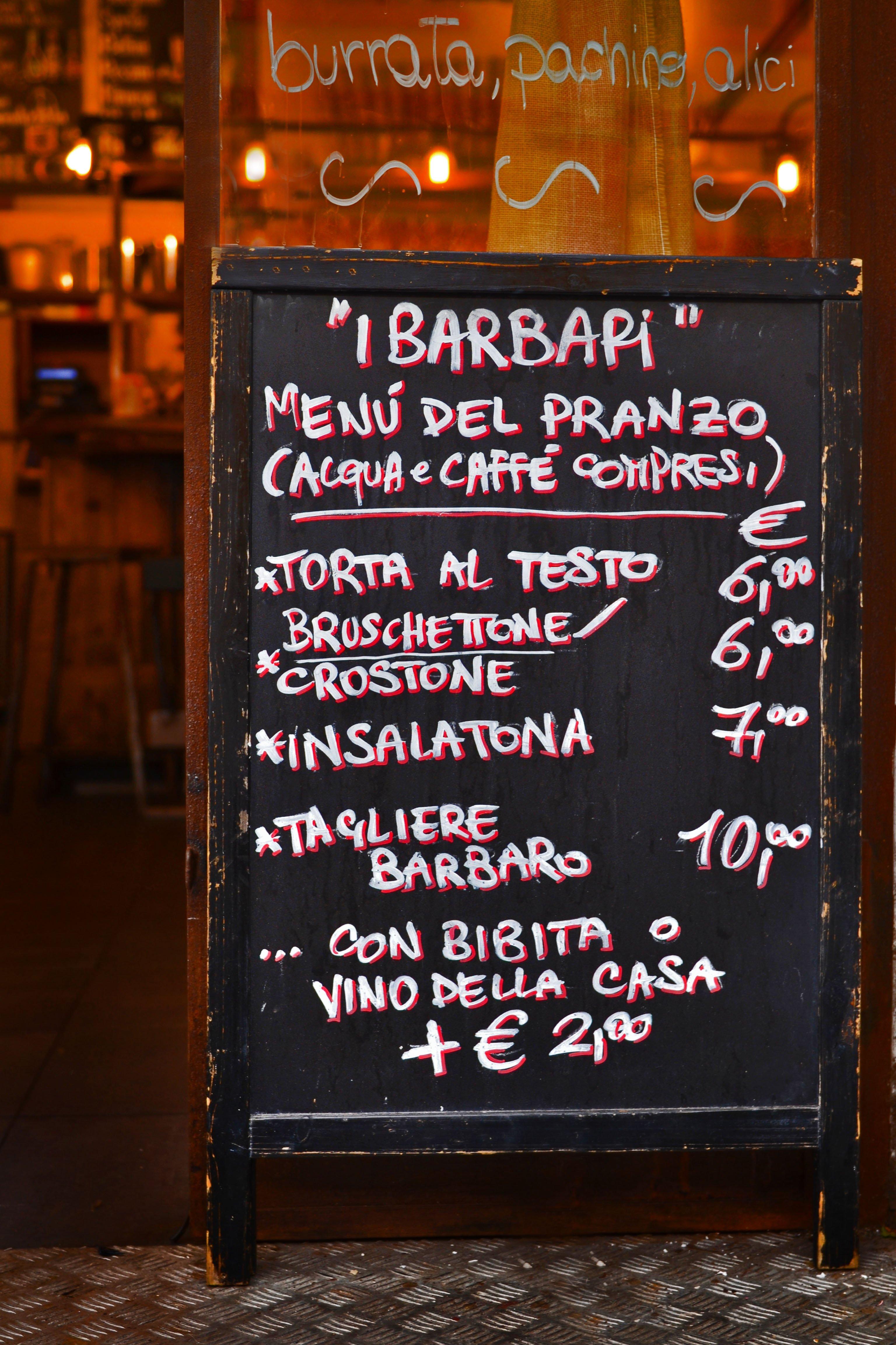 crostoni I BARBARI vini e taglieri a roma prati
