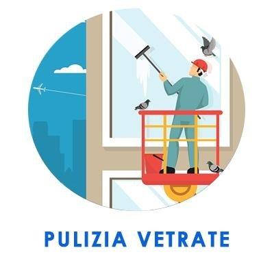 Pulizia vetrate, pulizia vetri