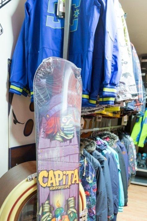 snowboard donna